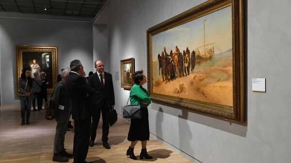 В Париже открылась выставка работ Ильи Репина