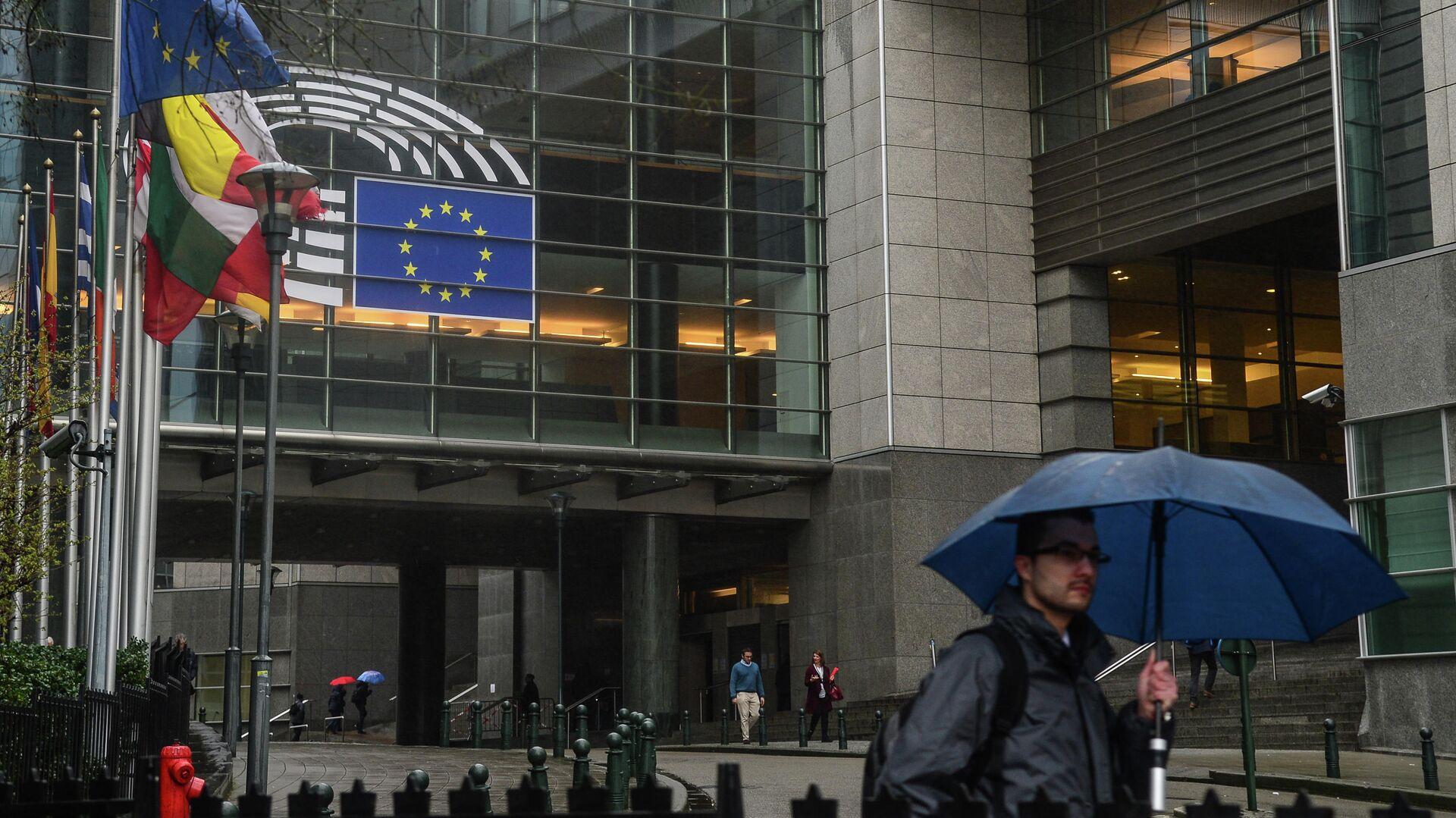 Здание Европейского парламента в Брюсселе - РИА Новости, 1920, 01.12.2020