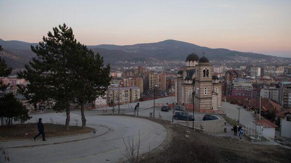 Косово. Косовская Митровица. Храм Св. Димитрия