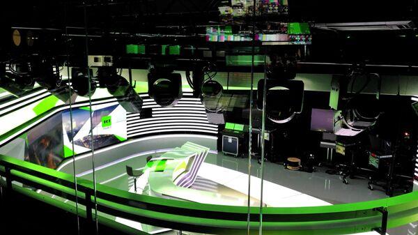 Студия телеканала RT France