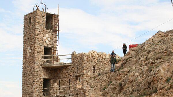 Монастырь Дейр Мар Муса эль-Хабаши в Сирии