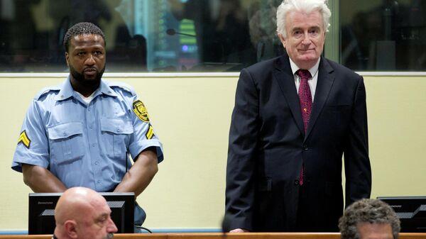 Экс-президент Республики Сербской Боснии и Герцеговины Радован Караджич