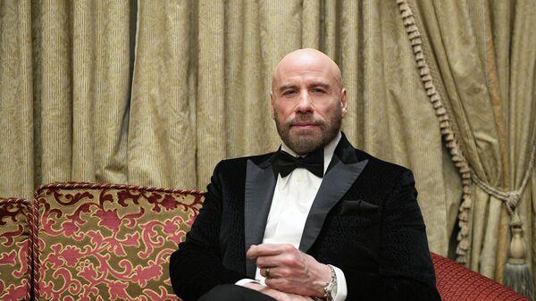 Голливудский актер Джон Траволта в Москве
