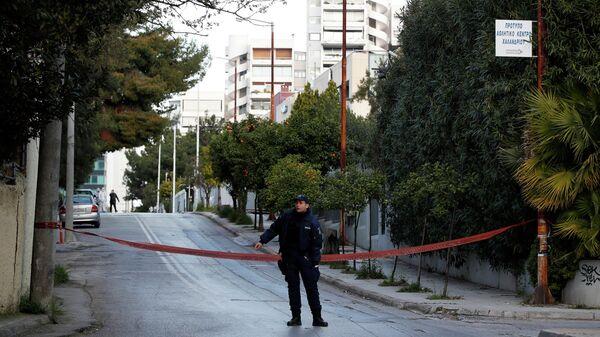 Сотрудники правоохранительных органов Греции