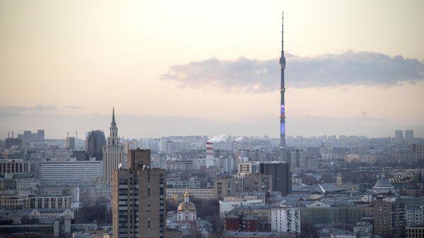 Останкинская телебашня в Москве