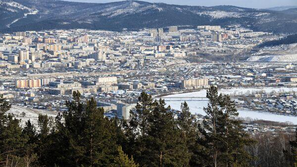 Вид на город Чита с Титовской сопки