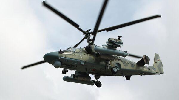 Ударный вертолет Ка-52 Аллигатор