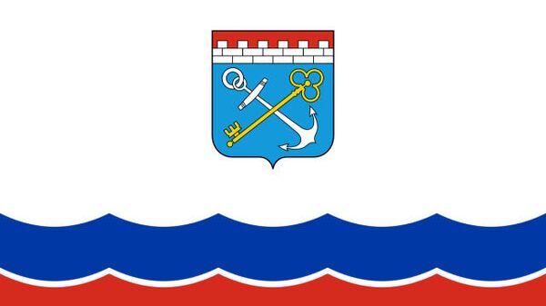 Ленинградская область флаг