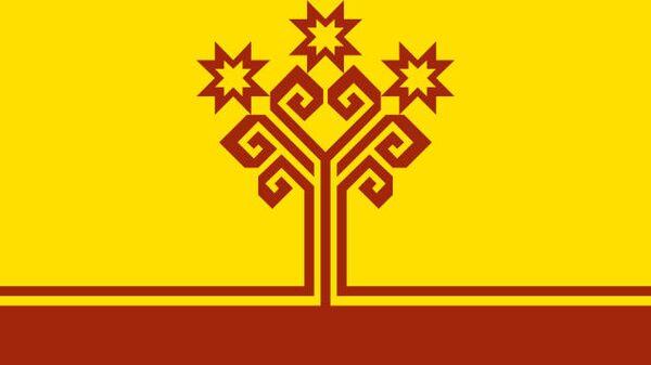 Чувашская республика флаг