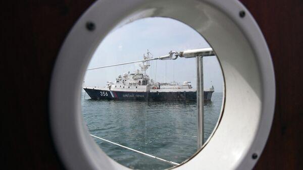 Сторожевой корабль береговой охраны Пограничной службы ФСБ России по Республике Крым