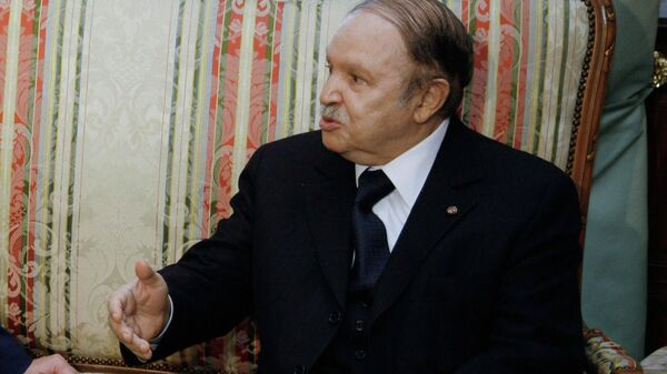 Бывший президент Алжира Абдельазиз Бутефлика