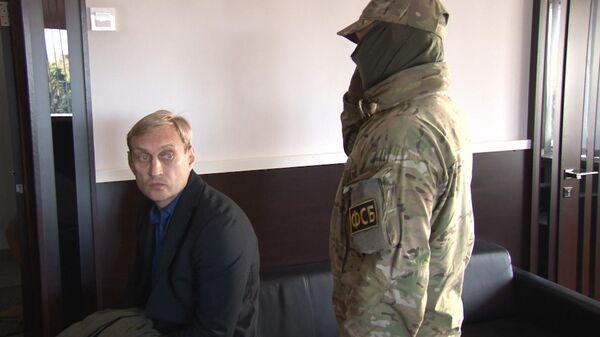 Кадры задержания мэра Евпатории Андрея Филонова