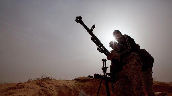 Военные в Ливии