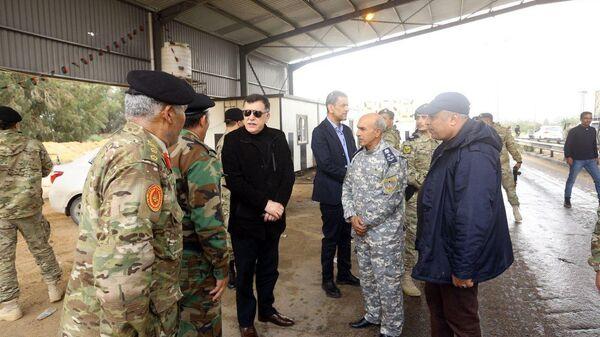 Глава правительства национального согласия Ливии Фаез Саррадж