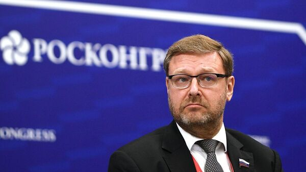 Константин Косачев на форум Арктика – территория диалога. День второй