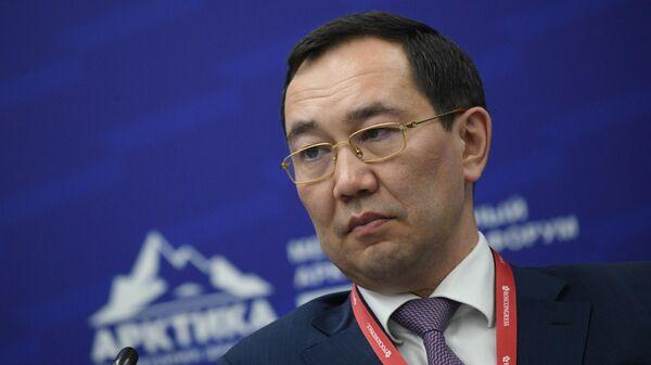 Глава Якутии Айсен Николаев. Архивное фото
