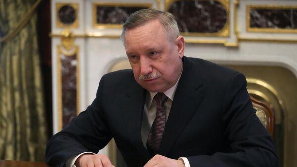 Губернатор Санкт-Петербурга Александр Беглов