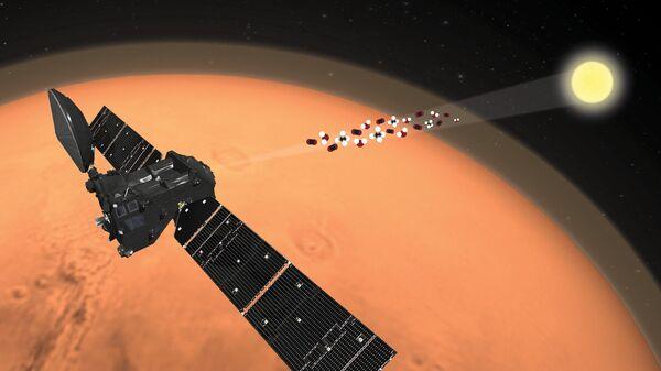 Зонд ЭкзоМарс-TGO измеряет спектр молекул атмосферы Марса