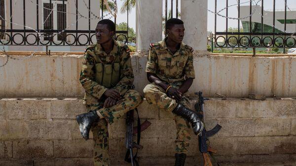 Военнослужащие в Судане