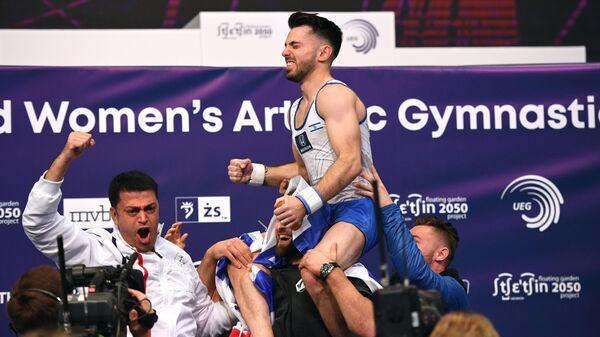 Спортивная гимнастика. Чемпионат Европы. Отдельные снаряды. Второй день