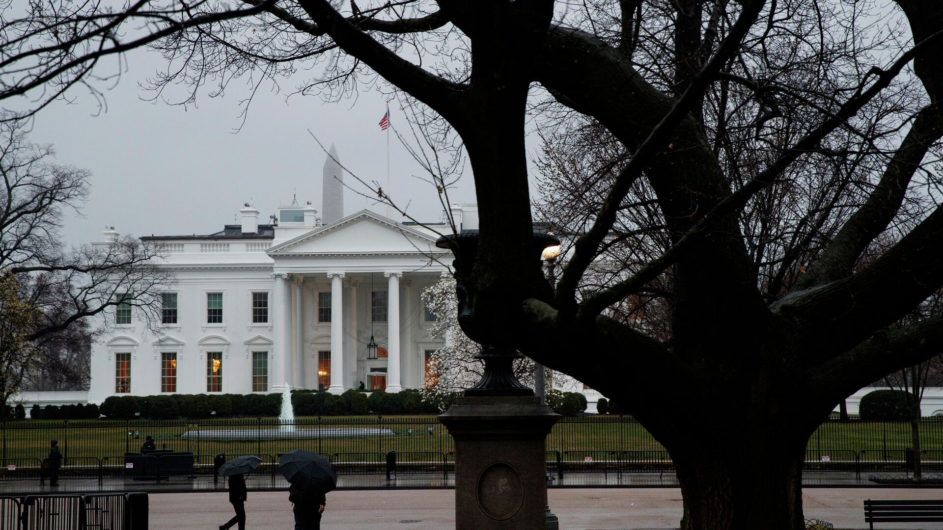Здание Белого дома в Вашингтоне, США - РИА Новости, 1920, 18.09.2021