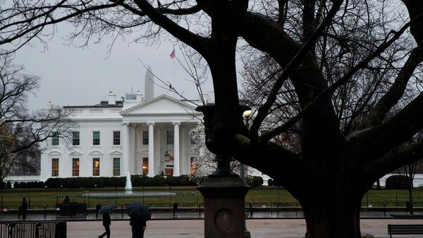 Здание Белого дома в Вашингтоне, США