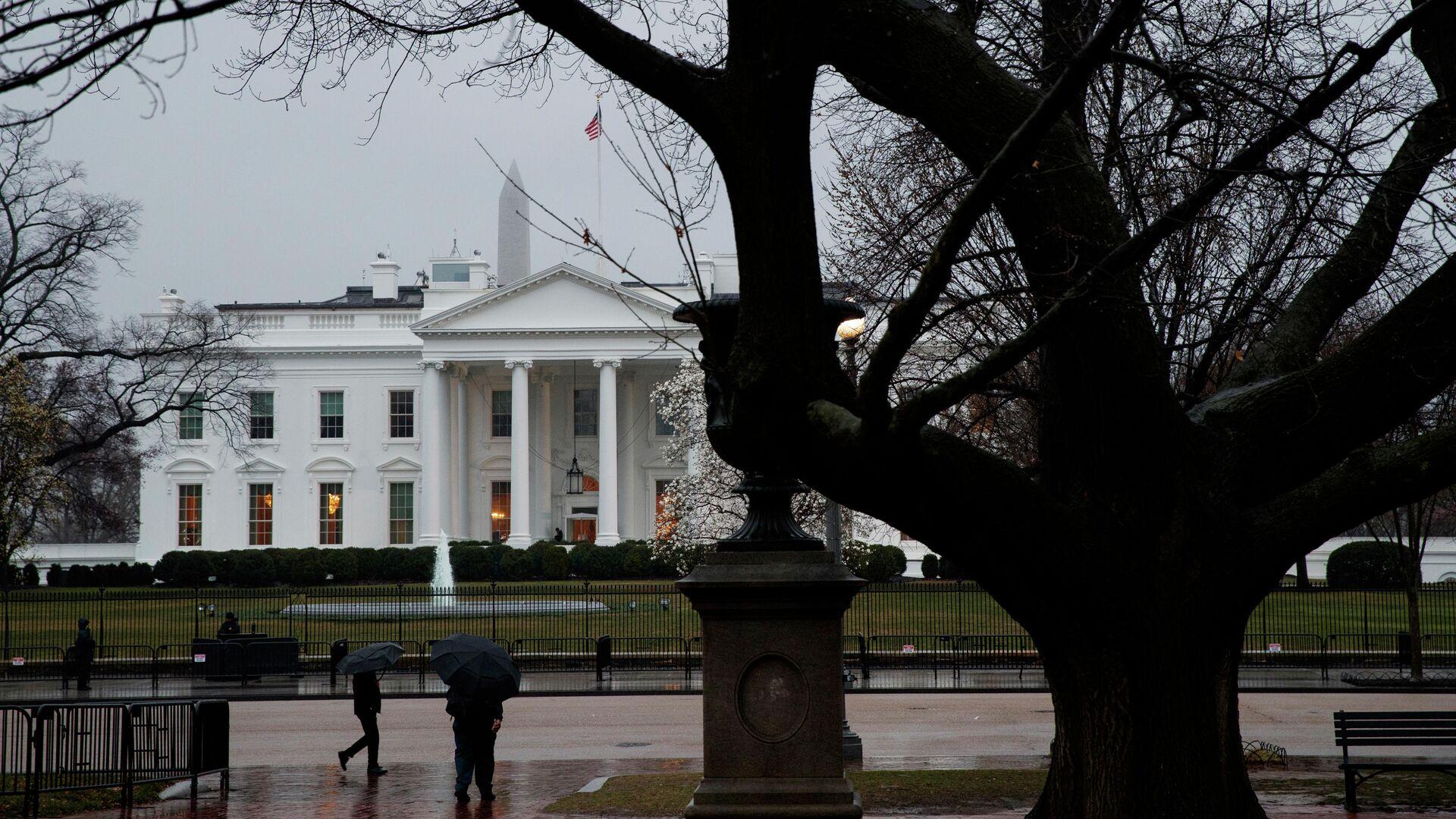 Здание Белого дома в Вашингтоне, США - РИА Новости, 1920, 14.06.2021