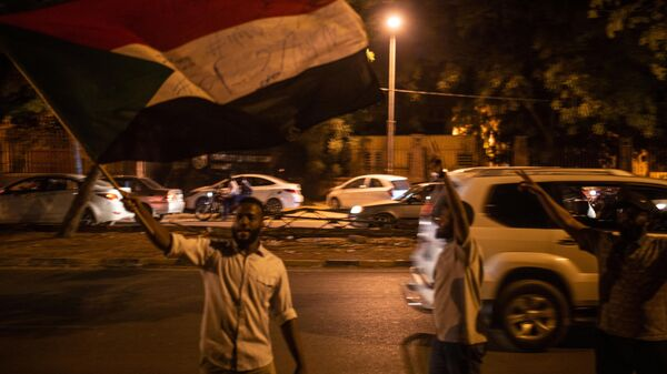 Митинг в Хартуме