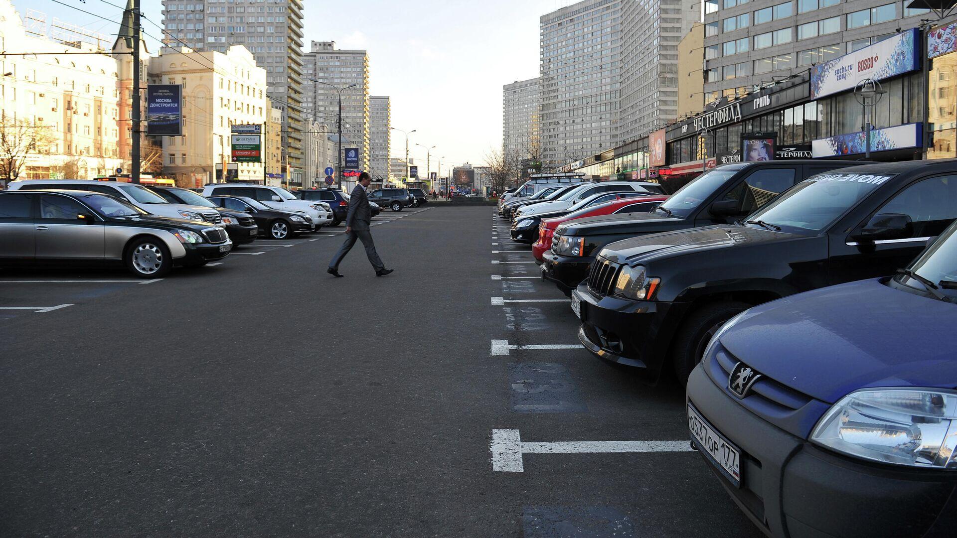 Открытие комплекса парковок на Новом Арбате - РИА Новости, 1920, 25.08.2020