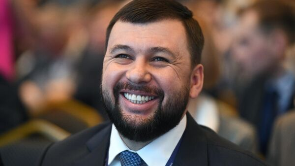 Глава ДНР Денис Пушилин на Ялтинском международном экономическом форуме
