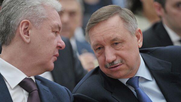 Сергей Собянин и Александр Беглов