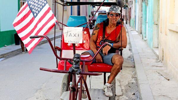 Кубинец в районе Старая Гавана