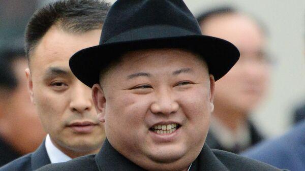 Лидер КНДР Ким Чен Ын во Владивостоке. 24 апреля 2019
