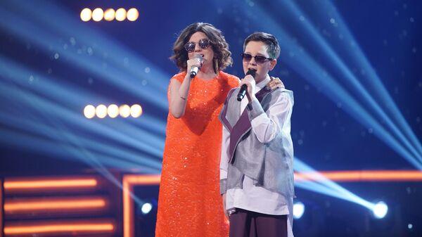 Певица Диана Гурцкая спела с участником проекта Ты супер! Даниилом Хачатуровым