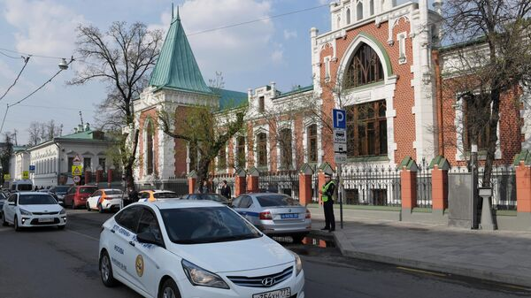 Главный дом Бахрушинского музея после реставрации в Москве