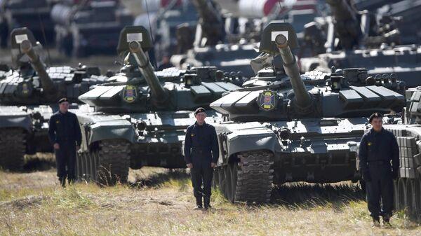 Танки Т-72Б3 армии России
