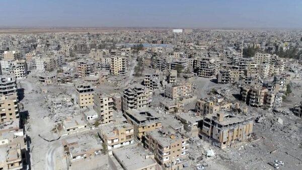 Город Ракка, Сирия.