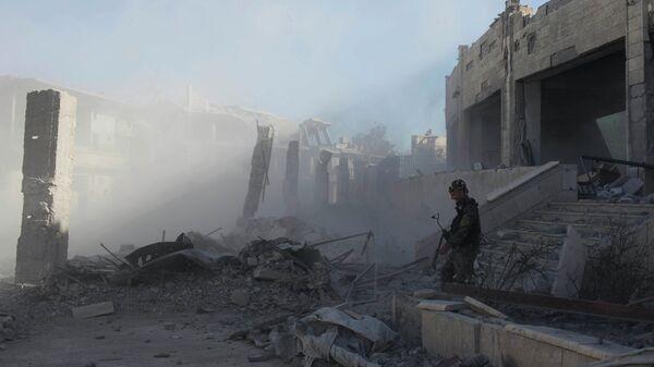 Город Ракка, Сирия. 18 октбря 2017 года