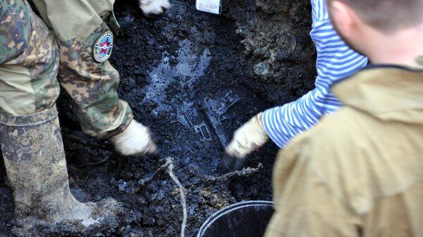 Останки экипажа, обнаруженные в Приморье участниками поискового объединения АвиаПоиск