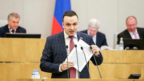 Депутат Госдумы от Справедливой России Дмитрий Ионин