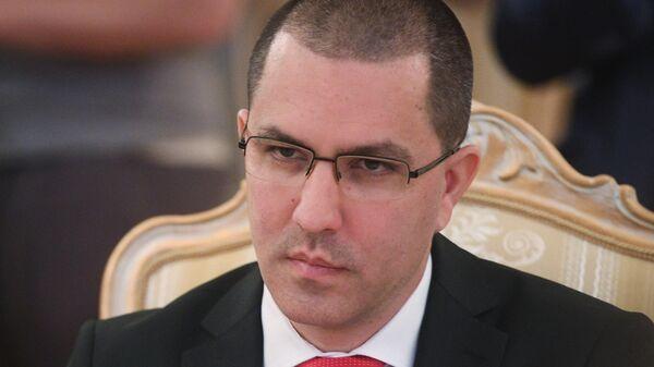 Министр иностранных дел Венесуэлы Хорхе Арреаса