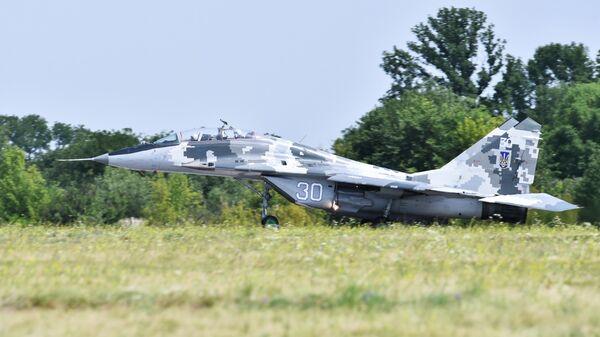 Истребитель МиГ-29 ВВС Украины. Архивное фото