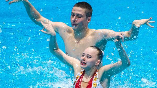 Кристина Аверина и Михаил Васильев