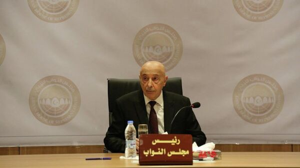 Cпикер парламента Ливии Агиля Салех