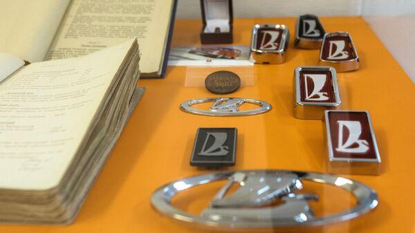 Экспозиция в музее прототипов АвтоВАЗ в Тольятти