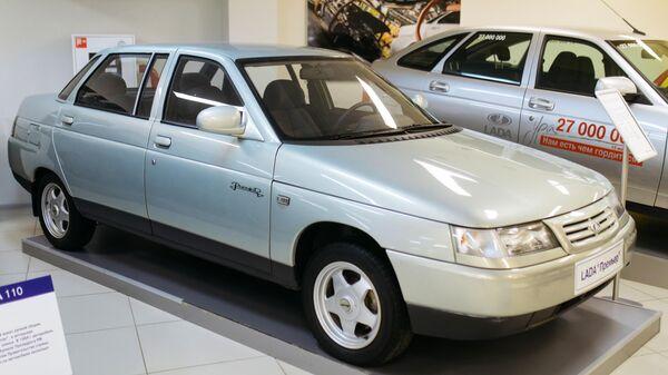 Автомобиль Lada Премьер в музее прототипов АвтоВАЗ в Тольятти