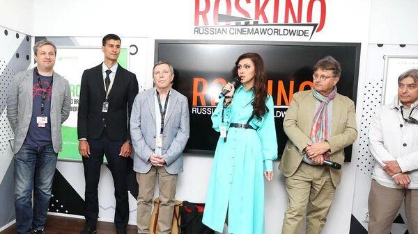 Открытие российского павильона на 72-ом Каннском кинофестивале