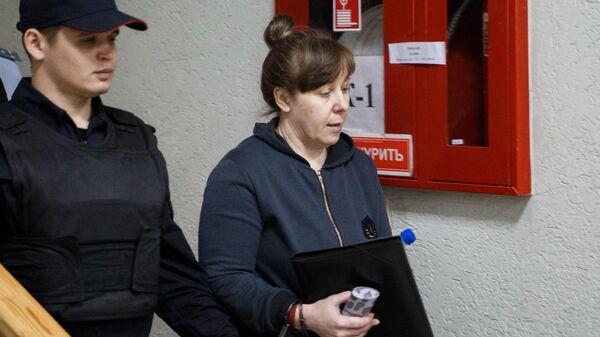 Гендиректор ООО Зимняя вишня Надежда Судденок перед заседанием в Заводском районном суде в Кемерово