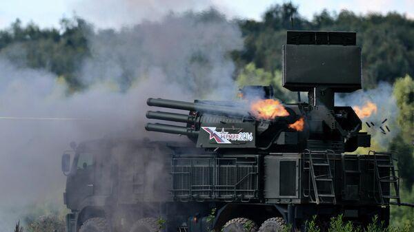 Зенитный ракетно-пушечный комплекс 96К6 Панцирь-С1