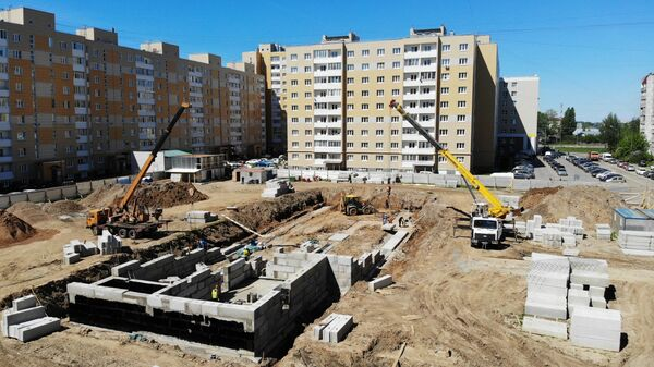 В Твери строят два новых детских сада на 250 мест